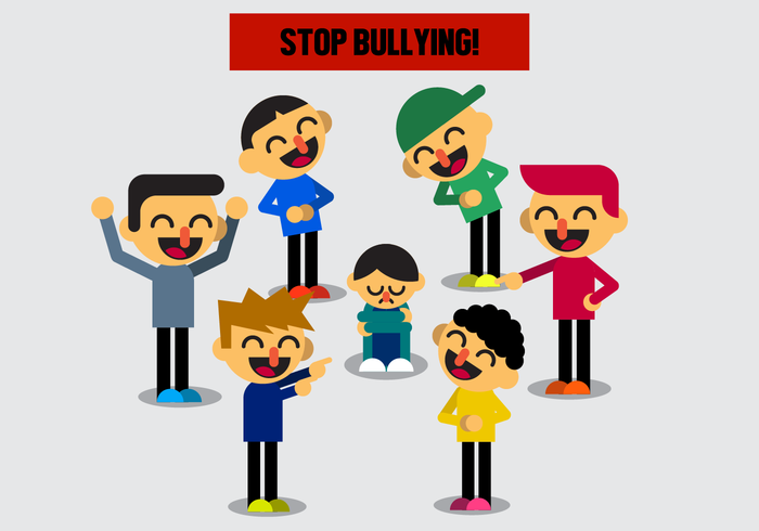 free-bullying-vector